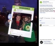 fotoramki choinka drwala ramka promocyjna na konkurs marketing bezpośrdni jak promować fanpage a la facebook instagram gadżety na eventy
