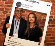 fundacja osnowa foto ramka instagram facebook gadżety na eventy promocja fotoraamki instaframe na imprezy na eventy targi wydarzenia dsnstudio.pl fotoramki.eu marketing