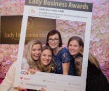 lady business awards ramka facebook instagram na eventy fotoramki chmurki tekstowe emotki do zdjęć