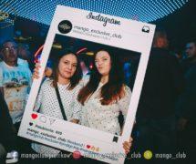 ramka instagram facebook społecznościowa fotoramka fotoramki gadżety na eventy klub mango marketing jak promować klub ramka do zdjęć dsn studio graficzne warszawa