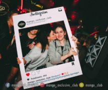 ramka instagram facebook społecznościowa fotoramka fotoramki gadżety na eventy klub mango marketing jak promować klub ramka do zdjęć dsn studio graficzne warszawa do klubu