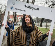 powerevents ramka foto fotoramka instaframe instagram facebook ramka produkcja sklep online gadzety do promocji eventu