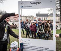 powerevents wrocław ramki społecznościowe do promocji eventu na event instaframe producent drukarnia sklep online